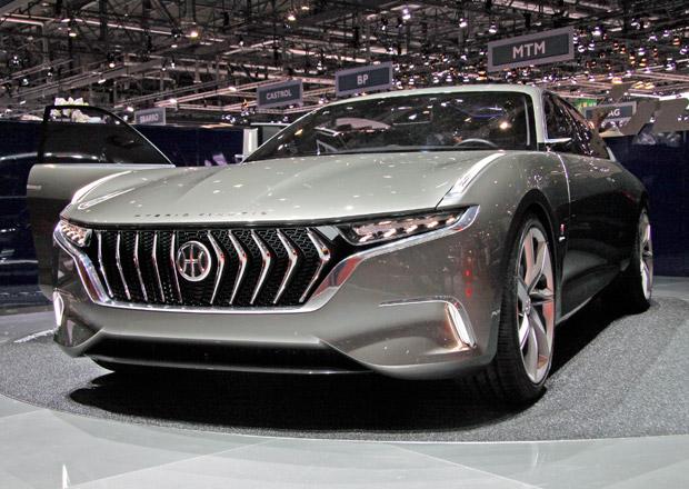 Pininfarina H600: Luxusní elektromobil s turbínou se promění v sériový model (+ video)