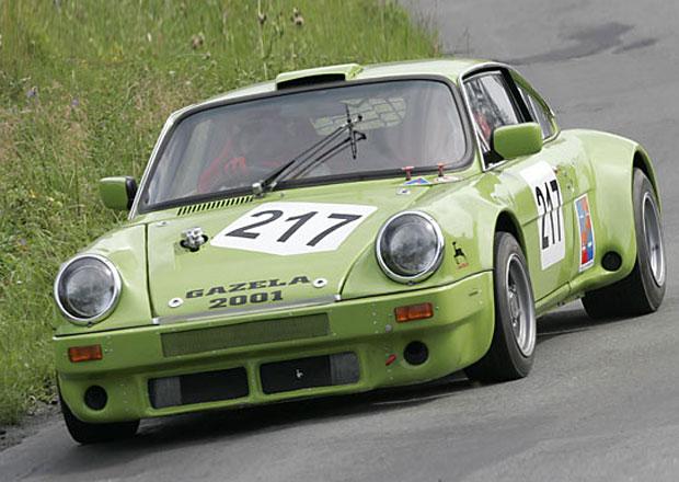 Gazela BMW B5 (BMW 2001): Škoda 110 R v brutální úpravě připomínala Porsche 911