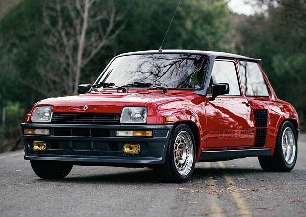Renault 5 Turbo 2 Evolution: Draží se vzácná přeplňovaná pětka z poloviny 80. let