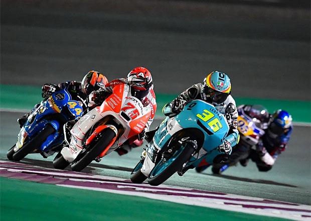 Motocyklová GP Kataru 2017: Nejslabší třída pro Joana Mira