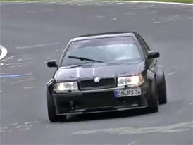 Video: Nejrychlejší Škodovka na Nürburgringu má 400 koní