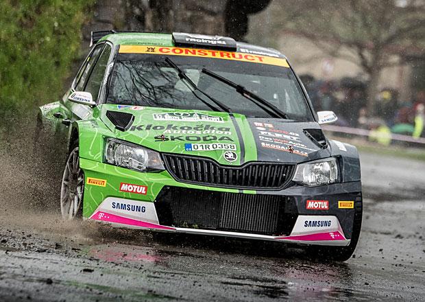 Racing21 na Rallye Šumava 2017: Druhý den s deštěm a posunem vpřed navzdory chybám