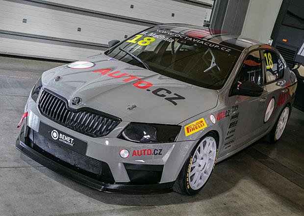 Škoda Octavia Cup: Naše auto je už v barvách!