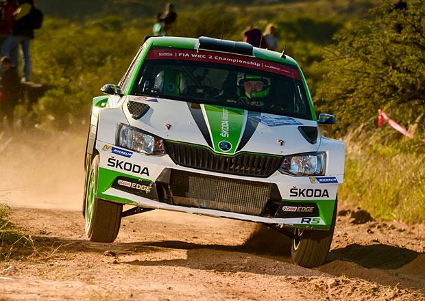 Po RZ5 Argentinská rallye 2017: Evans útočí