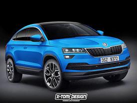 Škoda Karoq Coupe: Dočkáme se sportovnější verze?