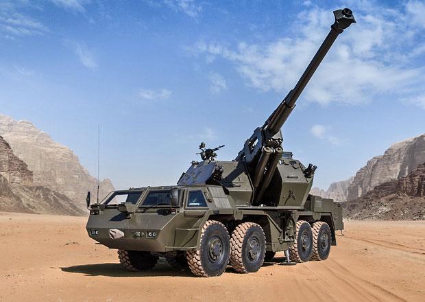 Děla pro armádu zmodernizuje Tatra. Za 1,27 miliardy!