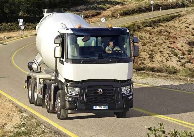 Domíchávače betonu: Renault