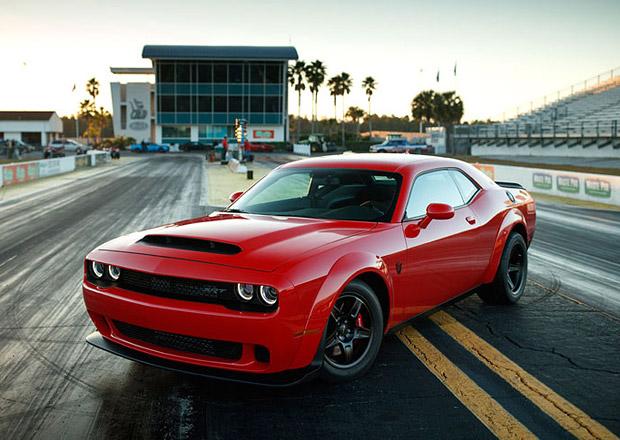 Tohle musíte podepsat, než si odvezete Dodge Challenger SRT Demon