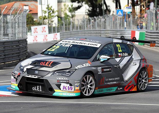 Čtvrtý závod Evropského poháru cestovních vozů: Fulín vede