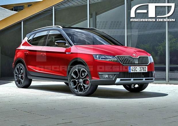 Takto by mohlo vypadat nové SUV Škoda, dvojče Seatu Arona. Nahradí Fabii Combi?