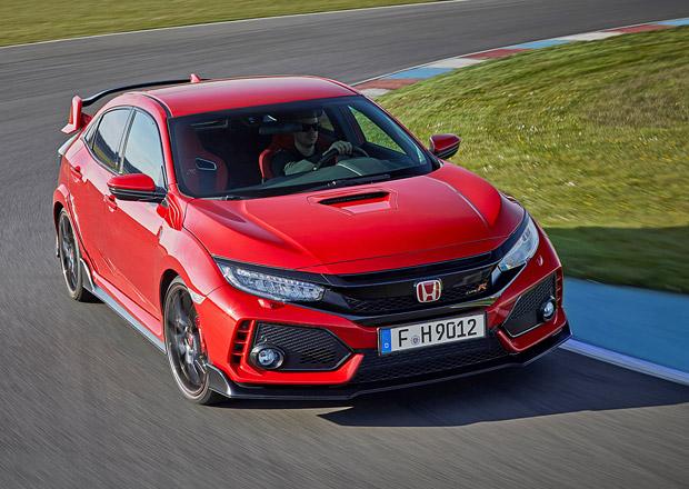Honda Civic Type R v Česku: 320 koní dá za méně než milion, příplatek je pouze jeden