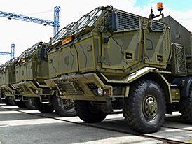 Tatra dodala nová nákladní vozidla pro Armádu České republiky