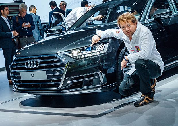 Nové Audi A8 poprvé naživo: Budoucnost přetavená v současnost!