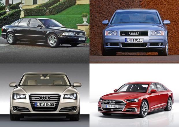 Audi A8: Čtyři generace luxusu v hliníkovém hávu