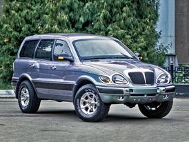 Ne čínská, ale ruská podivnost! SUV Ataman postavil GAZ. Proč zůstalo jen u prototypu?