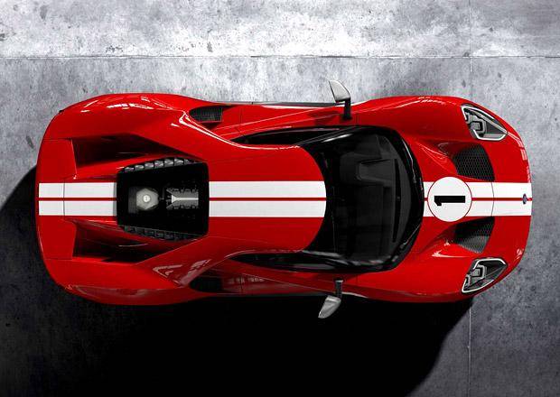 Ford GT oživuje barvy vítězného GT40 Mark IV z 24 hodin Le Mans 1967