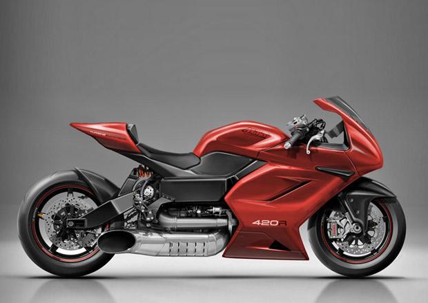 MTT 420RR je superbike s turbohřídelovým motorem z vrtulníku