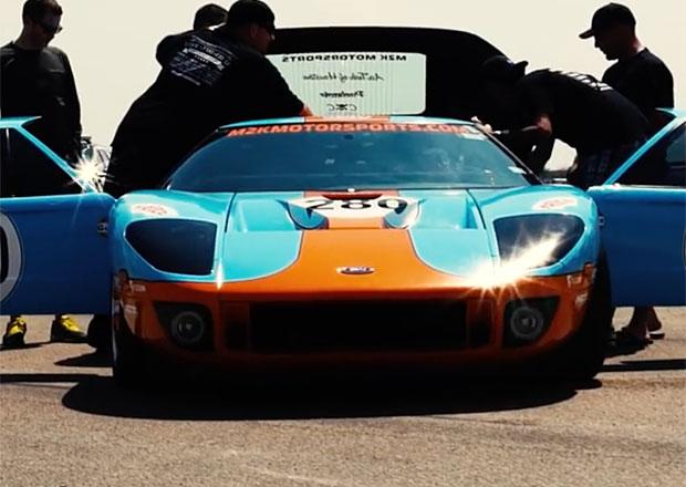 Pořádný hukot: Podívejte se, jak Ford GT překonal rychlost 470 km/h!