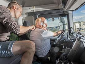 Scania zkoumá možnosti odpočinku pro zvýšení bezpečnosti řidičů