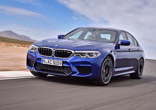BMW M5: Únik série fotografií těsně před premiérou