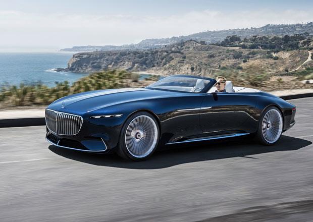 Vision Mercedes-Maybach 6 Cabriolet: Tohle je elektromobil, prosím!