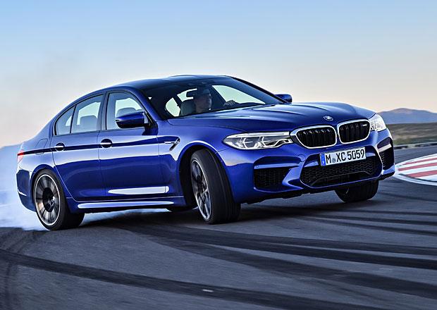 BMW M5: Rychlý sedan v nové generaci poprvé se čtyřkolkou
