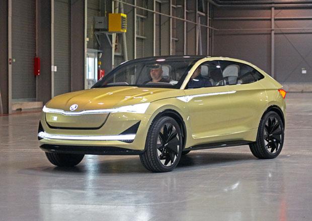 Elektrická Škoda dorazí v roce 2020. Vyrábět se bude v Mladé Boleslavi
