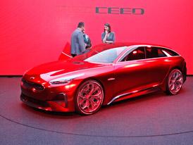Kia Proceed Concept: Zmenšený Stinger odhalil svůj interiér