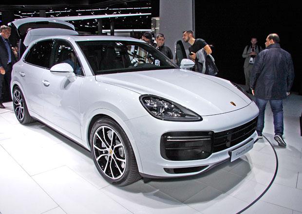 Porsche přivezlo do Frankfurtu nejvýkonnější Cayenne. Má mouchy...