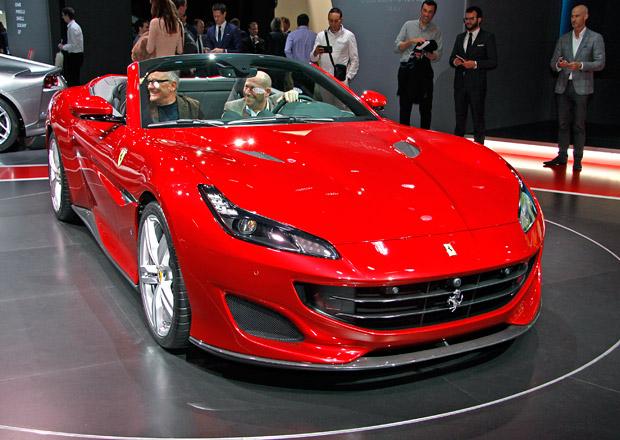 Ferrari Portofino poprvé naživo: Nástupce Californie konečně zhubnul