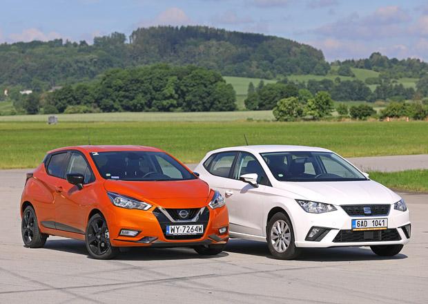 Nissan Micra 0.9 IG-T vs. Seat Ibiza 1.0 TSI – Vzájemná výměna rolí?