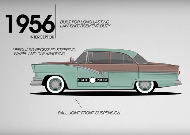 Ford a americká policie: Připomeňte si průřez téměř sedmdesátiletou historií partnerství
