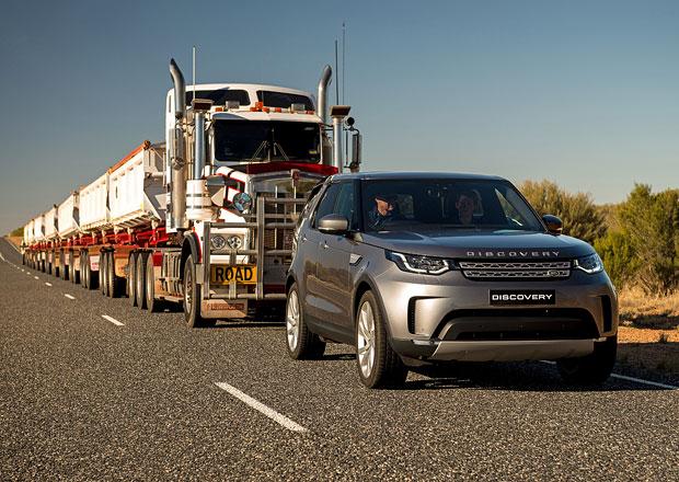 Land Rover Discovery utáhne násobně více, než výrobce uvádí. Tady je důkaz!
