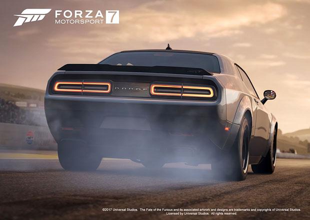 Řídíte jako Vin Diesel? Ve hře Forza 7 to můžete vyzkoušet, nabídne auta z Rychle a zběsile