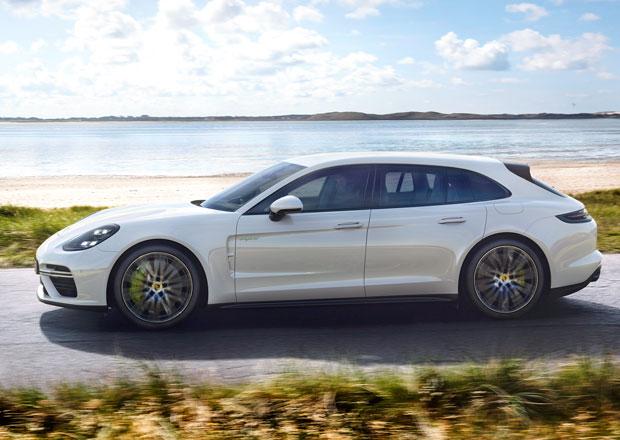 Kombi Porsche Panamera dostává plug-in hybridní pohon. Jeho vlastnosti jsou neskutečné!