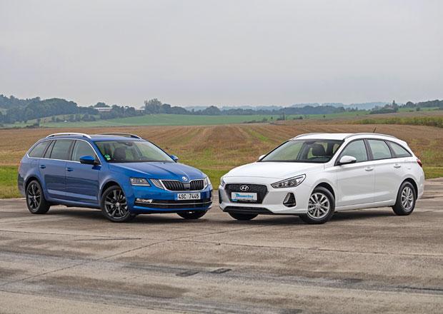 Hyundai i30 kombi 1.0 T-GDI vs. Škoda Octavia Combi 1.0 TSI – Dva kohouti na jednom dvorku