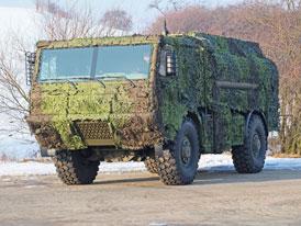 Armáda dostala prvních pět modernizovaných cisteren Tatra