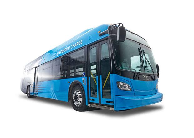 New Flyer Xcelsior Charge: Elektrobus s kapacitou baterií 885 kWh