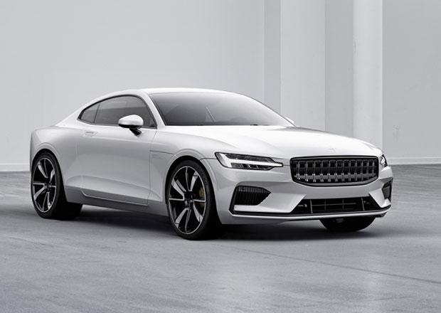 Vypadá jako Volvo, ale není to Volvo. Polestar odhaluje první vůz, je jím výkonné hybridní kupé