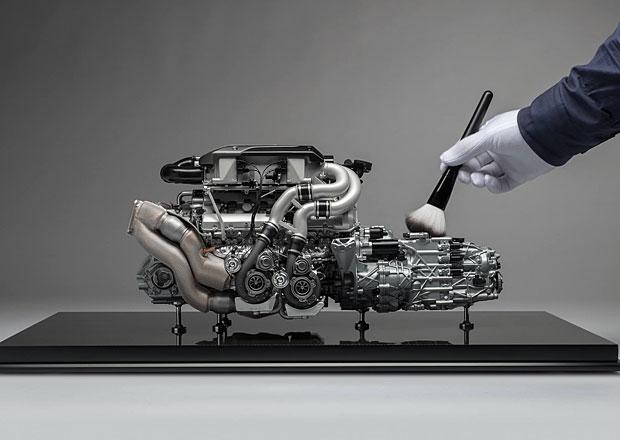 Model motoru Bugatti Chiron může být váš. Stojí jako nová Dacia