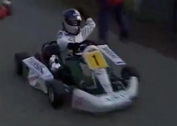 Sebastian Vettel školil vrstevníky už před mnoha lety. Takhle se mladíčkovi dařilo na motokárách