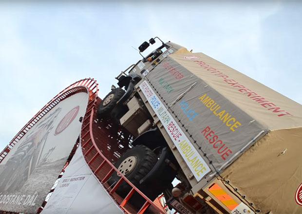 Tatra má světový rekord! Podívejte se, jak v Ostravě zdolala šílenou překážku