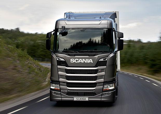 Scania představuje nový motor na LNG pro dálkovou dopravu