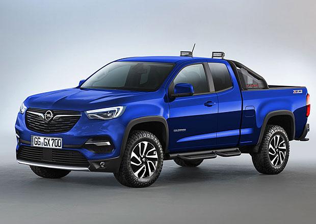 Pick-Up X: Jak by mohl vypadat novodobý pracant od Opelu?