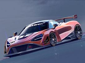 McLaren odhaluje podobu modelu 720S pro závodní třídu GT3