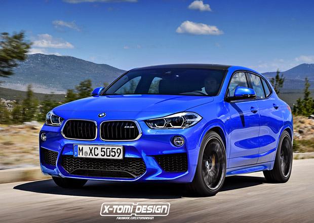 BMW X2 bude ještě ostřejší, vrcholová verze nabídne 300 koní i s manuálem