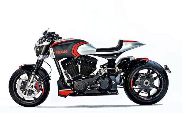Keanu Reeves a jeho Arch Motorcycle představují trojici luxusních motocyklů