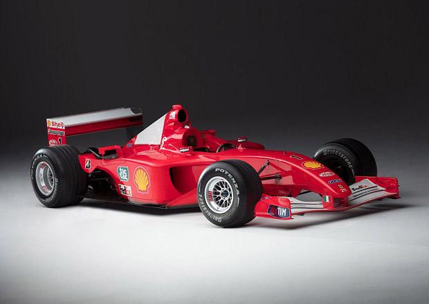 Schumiho vítězné Ferrari má nového majitele. Odhadce hodnoty se pořádně sekl