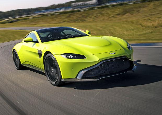 Nový Aston Martin Vantage je tu. S motorem Mercedesu a elektrickým samosvorem