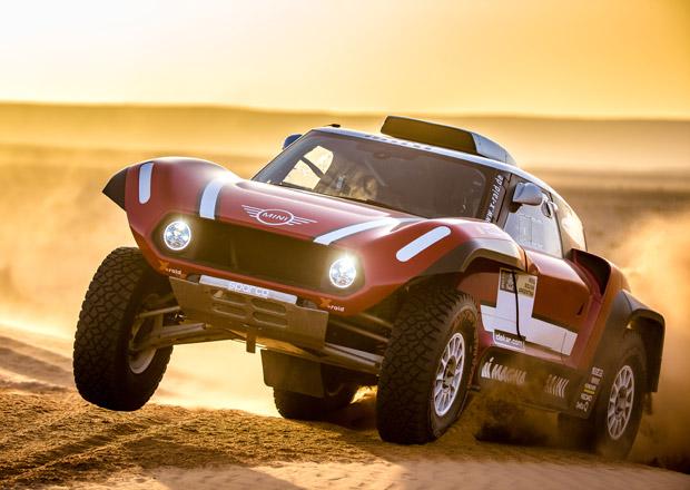 Mini míří na Dakar 2018. S touhle ošklivou zadokolkou!